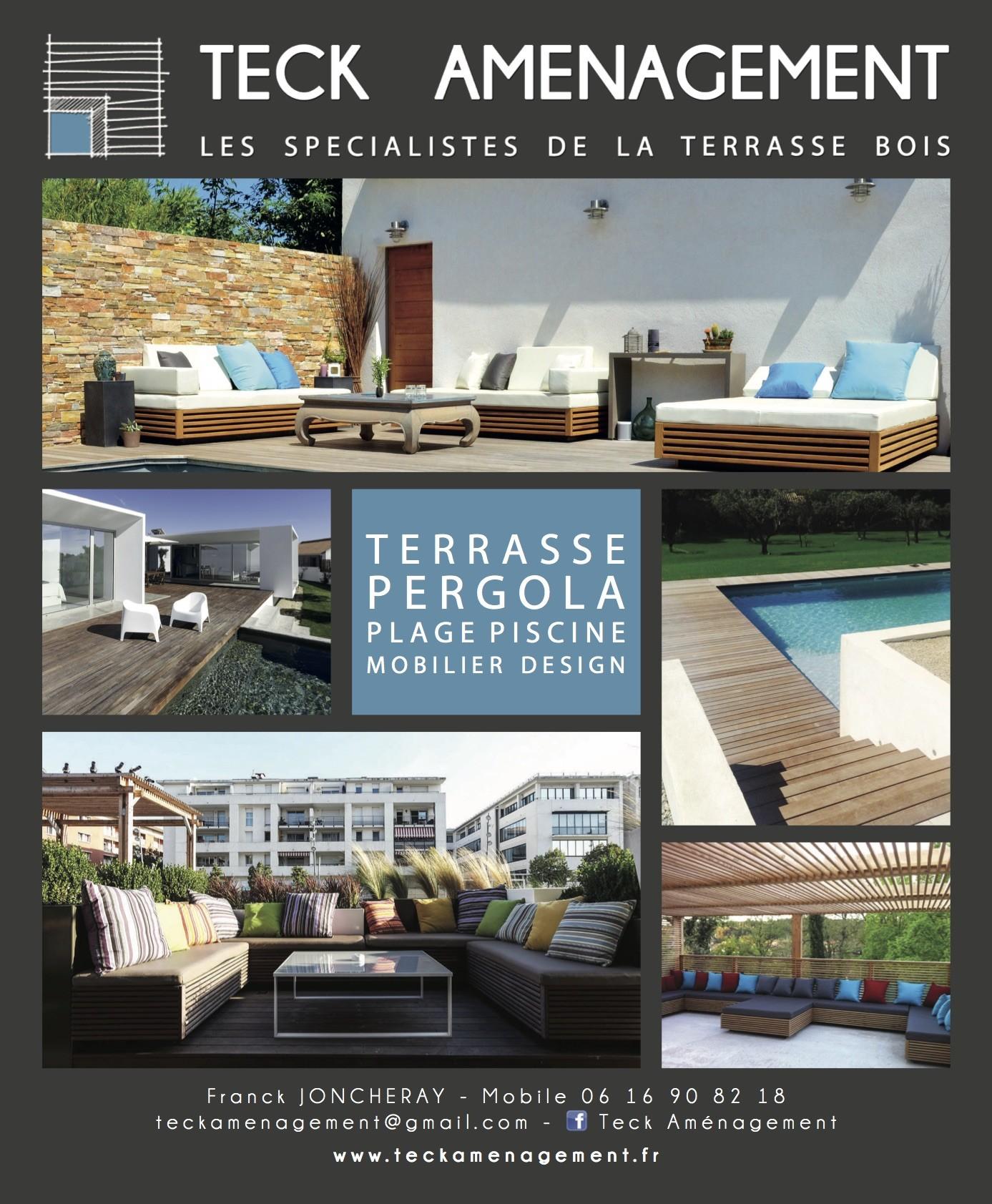 Hors s rie architecture bois am nagement de terrasse en - Amenagement piscine bois aixen provence ...