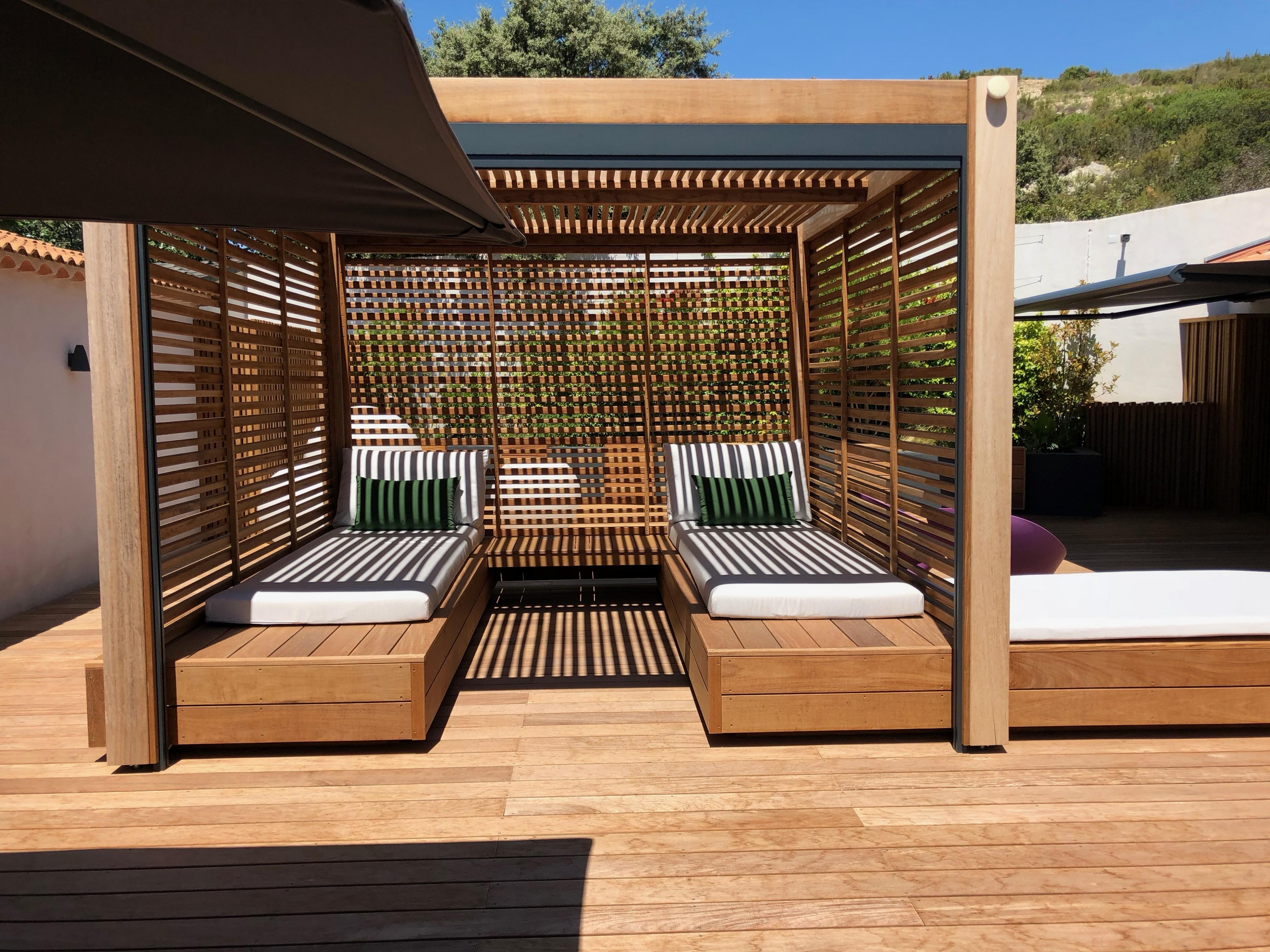 Pergola bois Aix en Provence Le choix de la couverture de la pergola ...