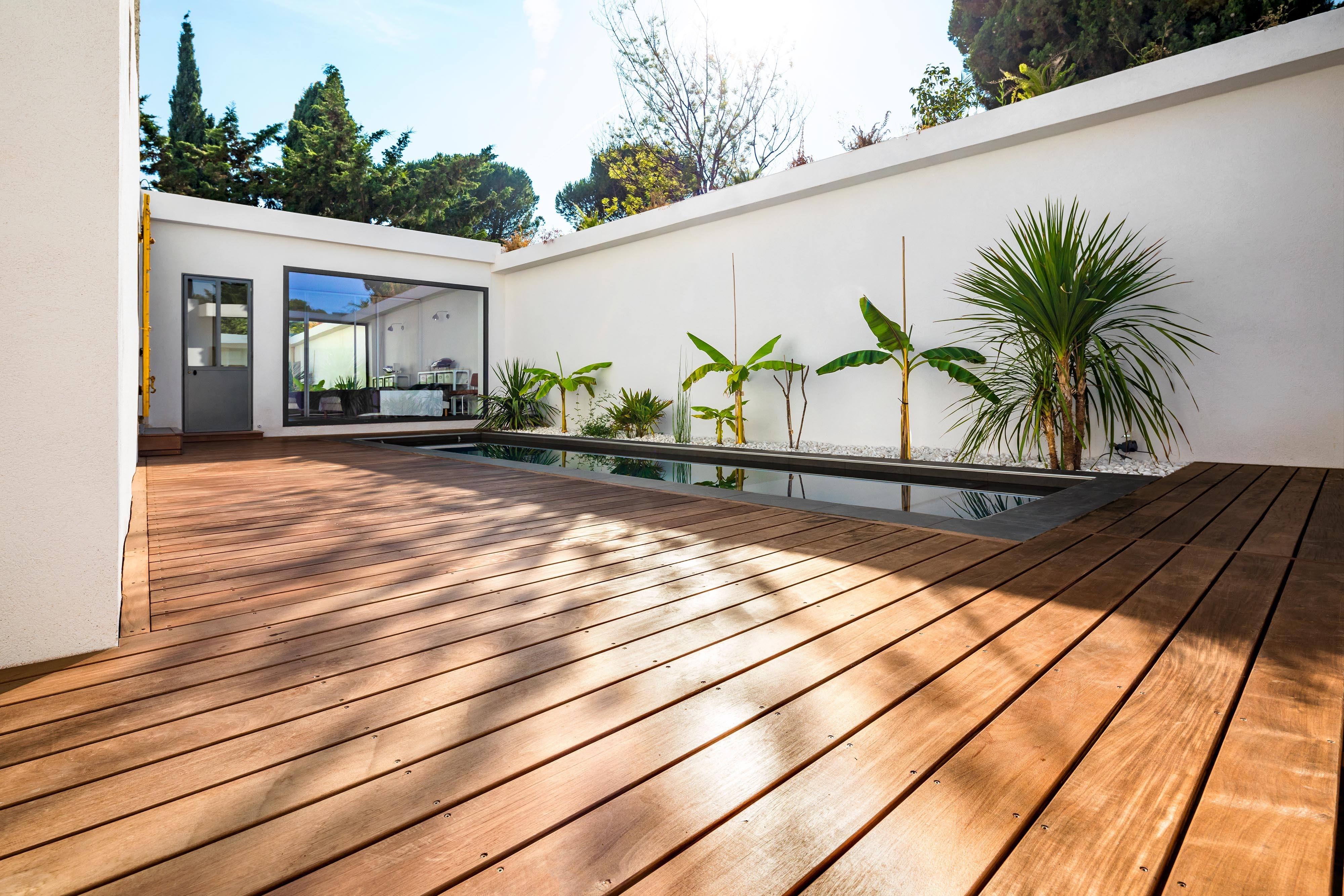 Vente Bois Pour Terrasse terrasse bois au roucas blanc lames et bandeaux de terrasse