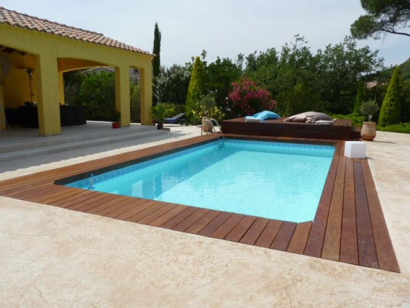 Devis pour une installation de terrasse en bois sans - Mobilier jardin teck entretien aixen provence ...
